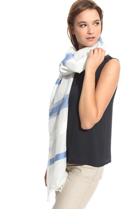 Sciarpa in lino jacquard Fashion Market