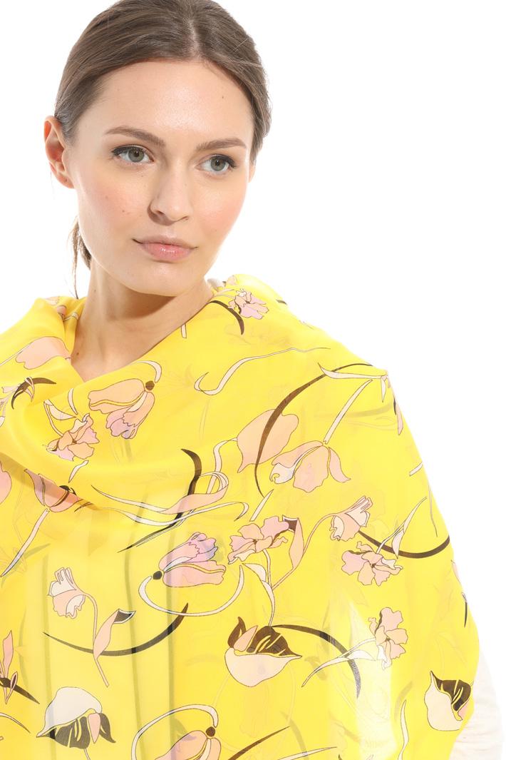 Stola a fantasia floreale Fashion Market