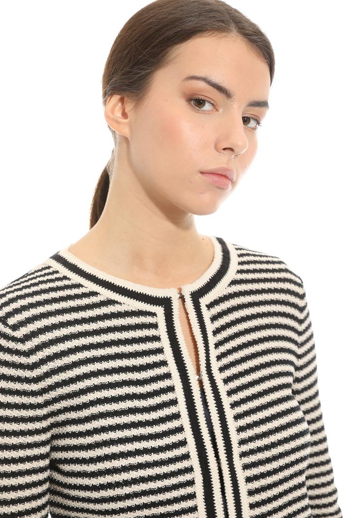 Giacca in jersey jacquard Fashion Market