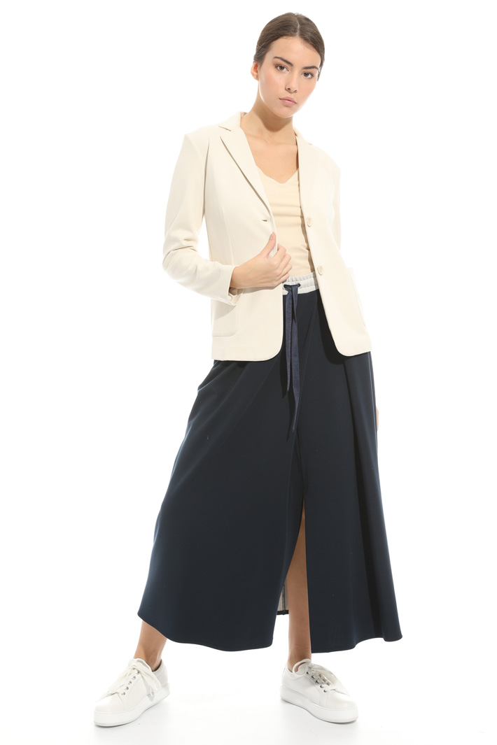 Blazer in jersey cotone doppio Fashion Market