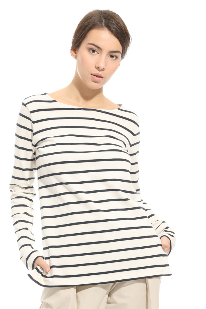 T-shirt in cotone stretch Fashion Market