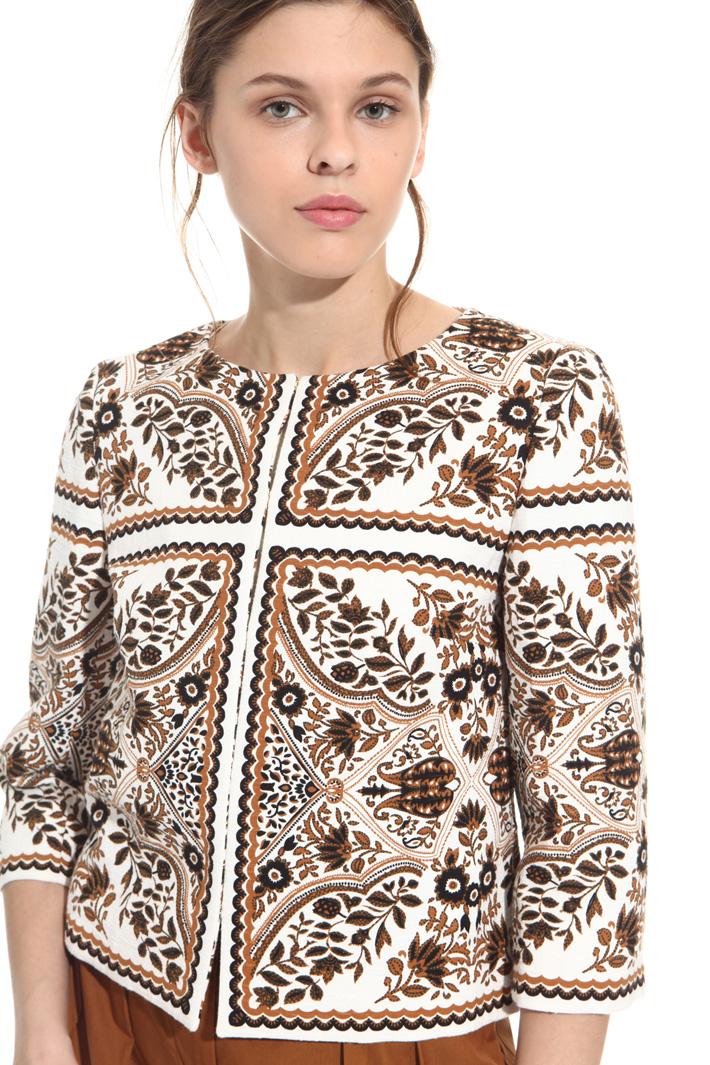 Giacca in cotone stampato Fashion Market