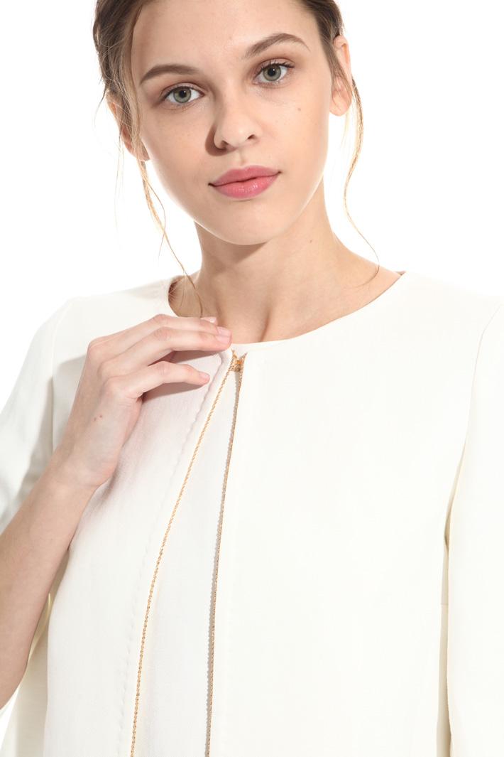 Giacca in twill misto lino Fashion Market