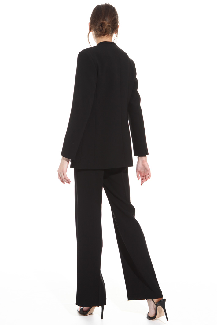 Blazer in cady triacetato Fashion Market