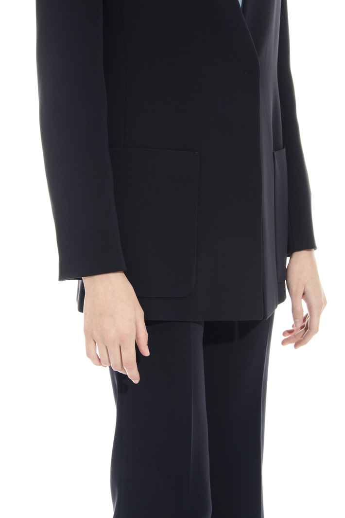 Blazer in cady triacetato Fashion Market