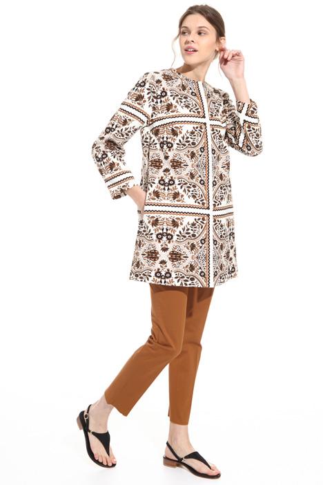 Soprabito in cotone stampato Fashion Market