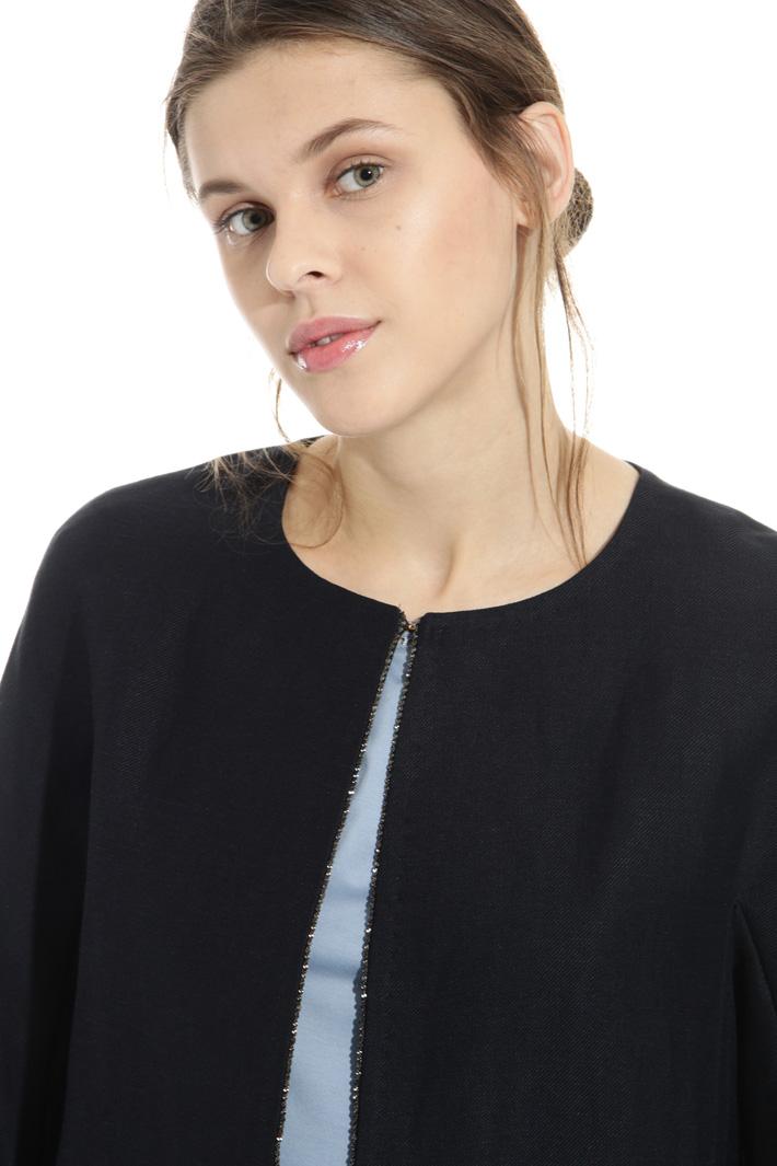 Soprabito in misto lino Fashion Market