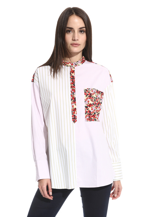 Blusa con mix fantasie Fashion Market
