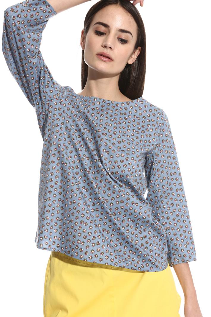 Blusa con manica tre quarti Fashion Market