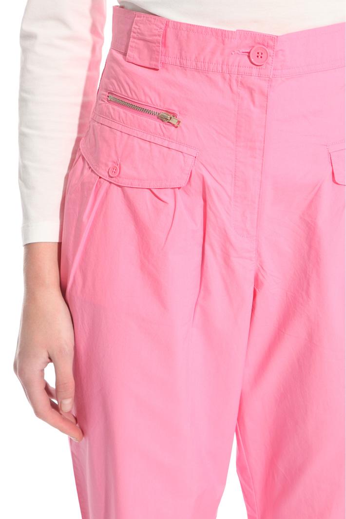 Pantalone carrot in popeline Fashion Market