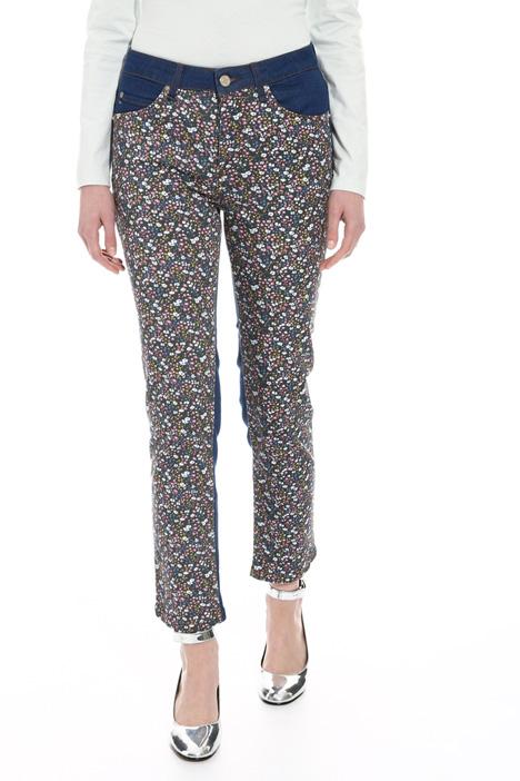 Pantalone drill stampato Fashion Market