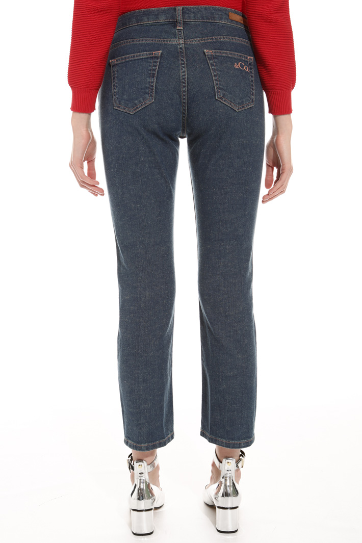 Jeans cropped adrente Fashion Market