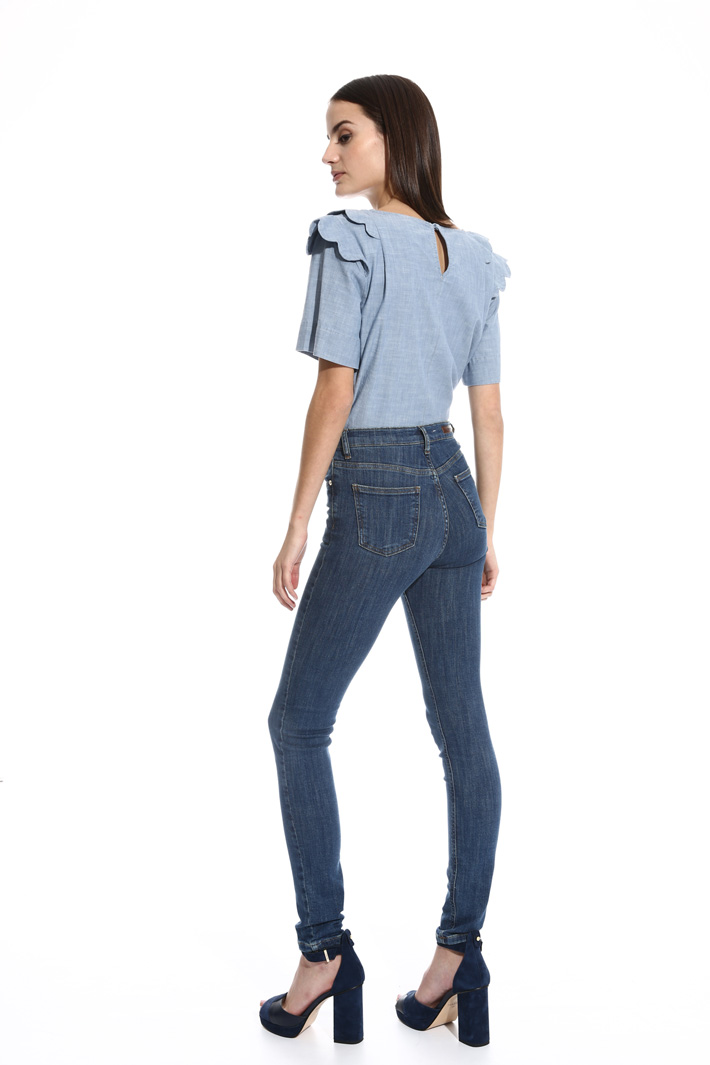 Jeans skinny a vita alta Fashion Market