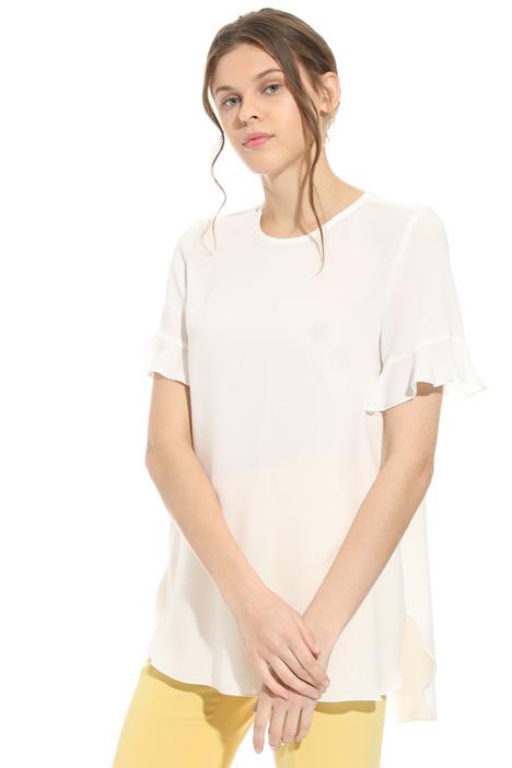 Blusa in cady triacetato Fashion Market