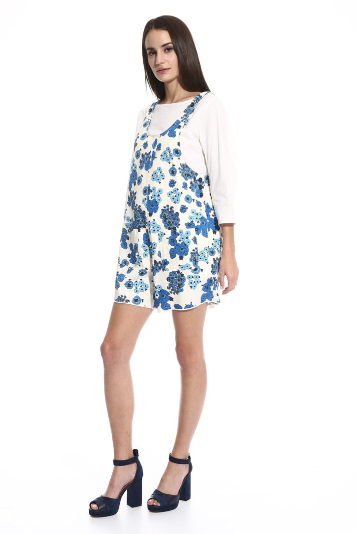 Mini-tuta in gabardina Fashion Market