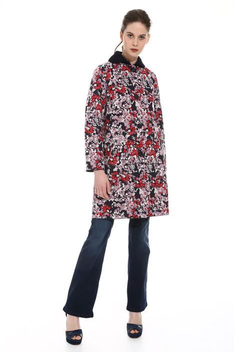 Cappotto in maglia jacquard Fashion Market