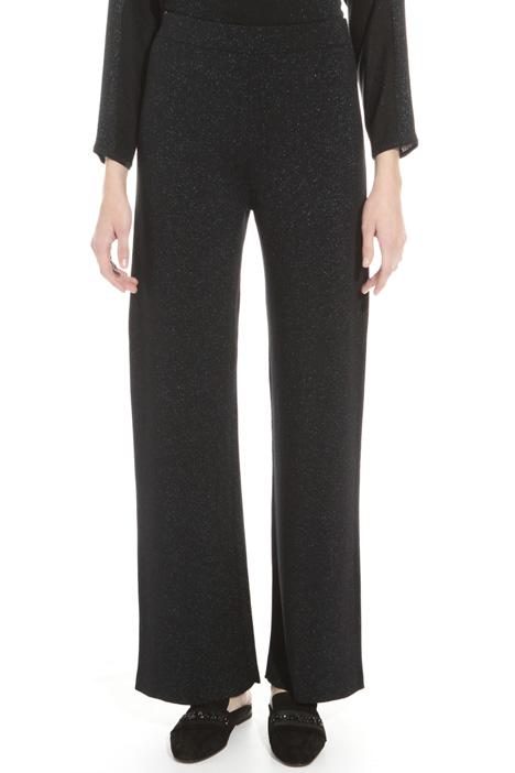 Pantalone in maglia lurex Fashion Market