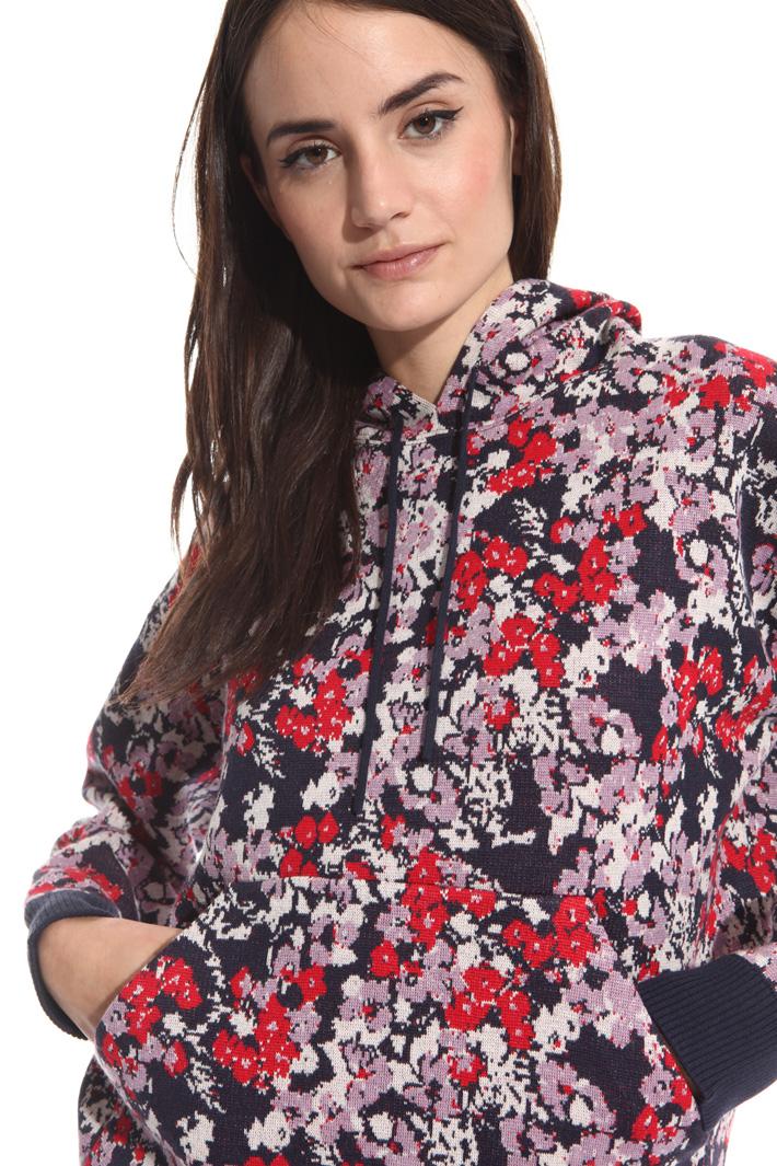 Felpa in maglia accooppiata Fashion Market