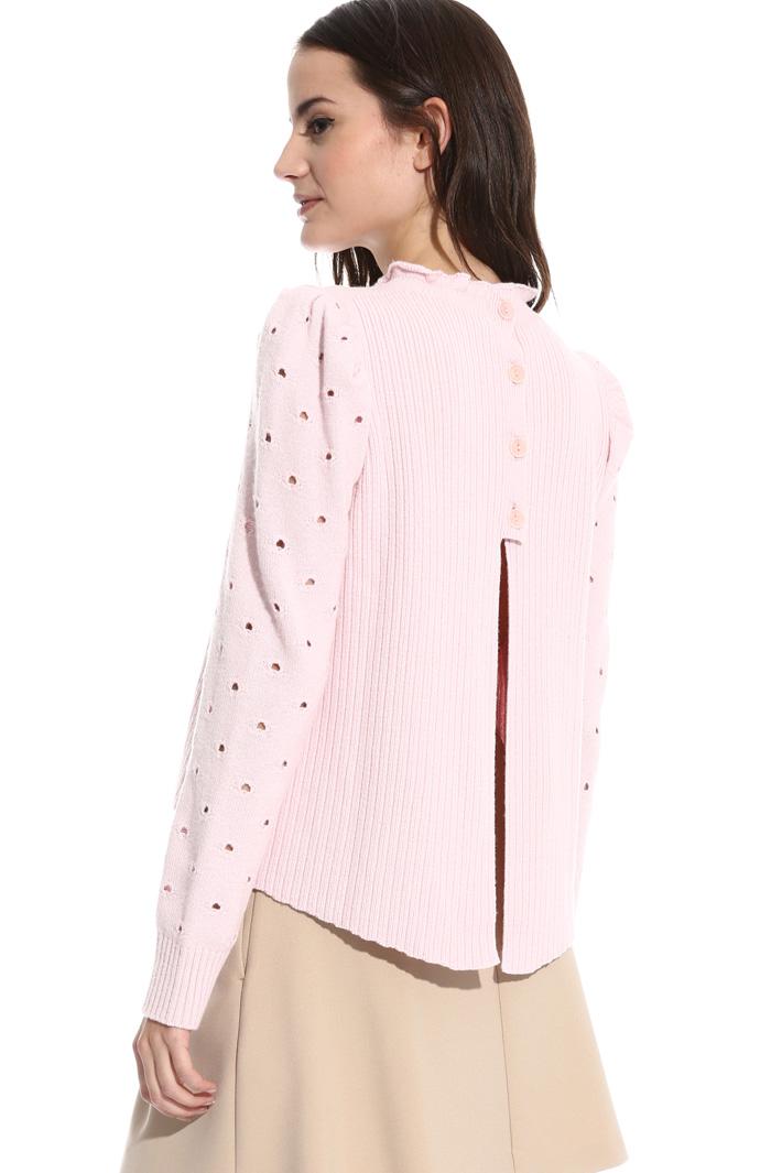 Maglia boxy traforata Fashion Market