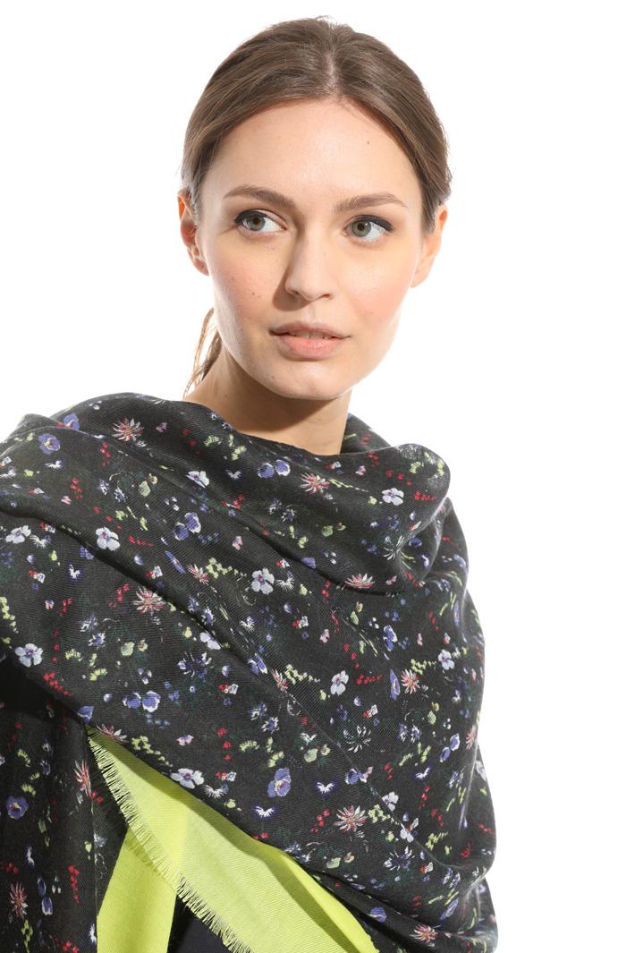 Sciarpa con stampa floreale Fashion Market