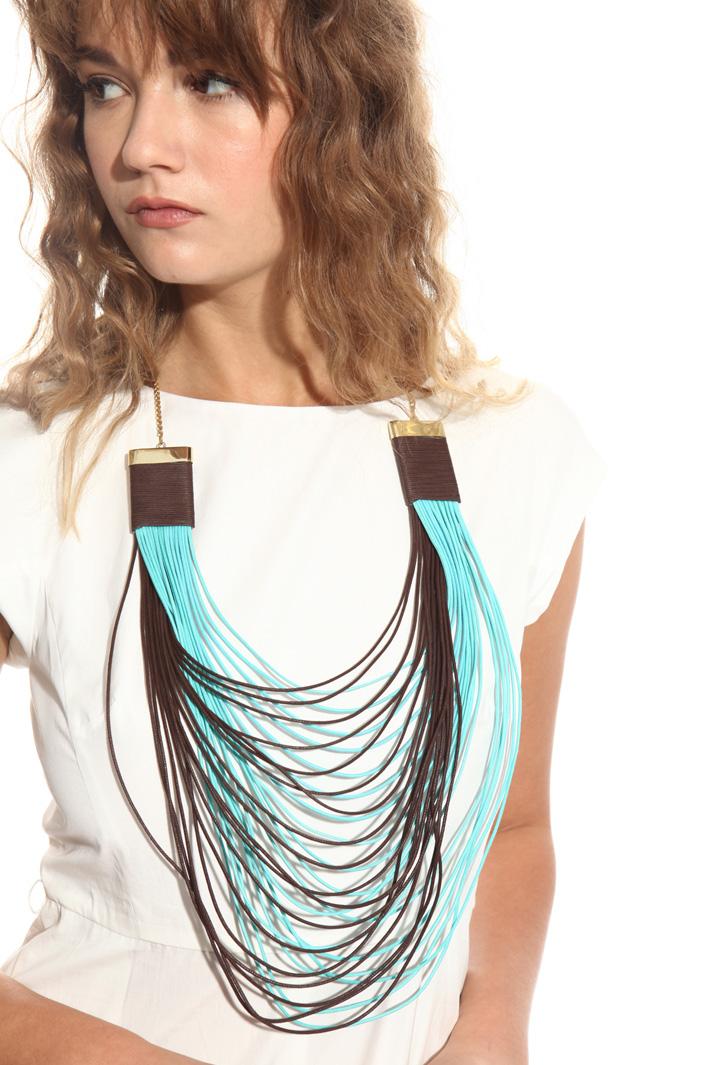 Collana multifili bicolore Fashion Market