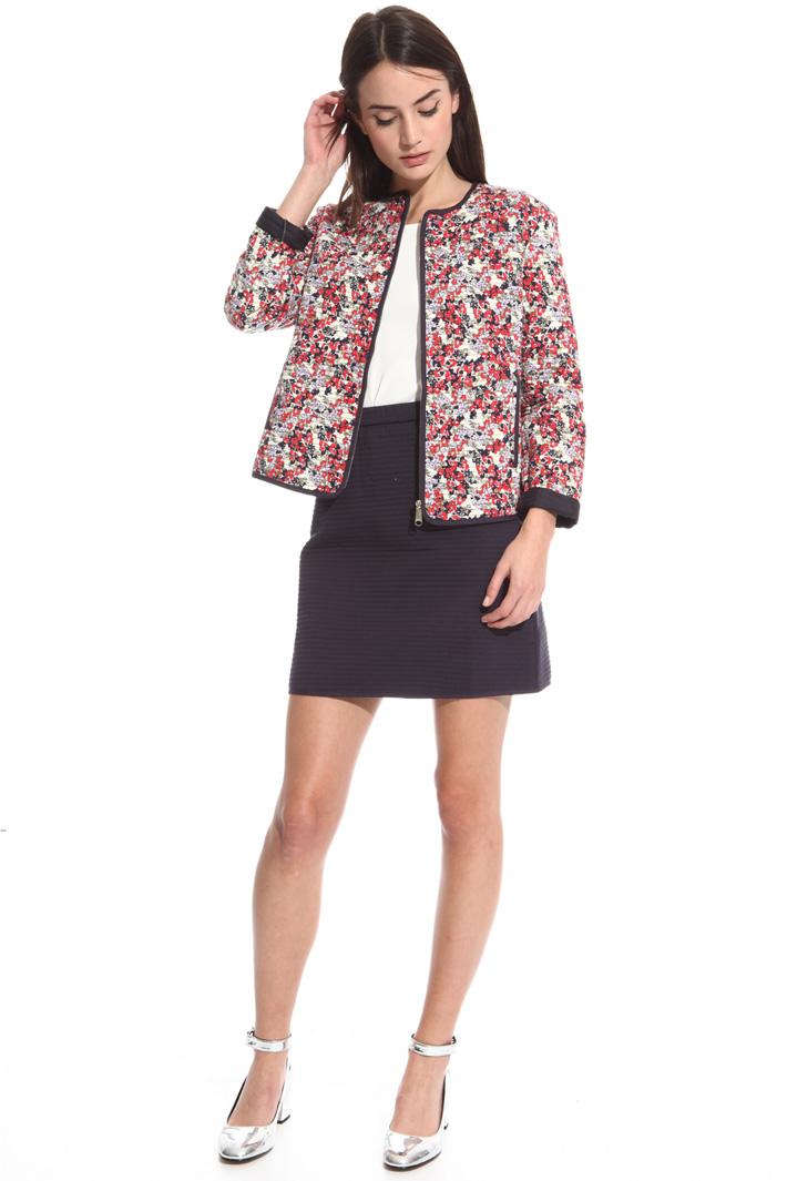 Giacca in jersey matelassé Fashion Market