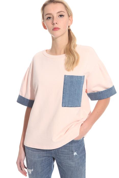 Top in felpa di cotone Fashion Market