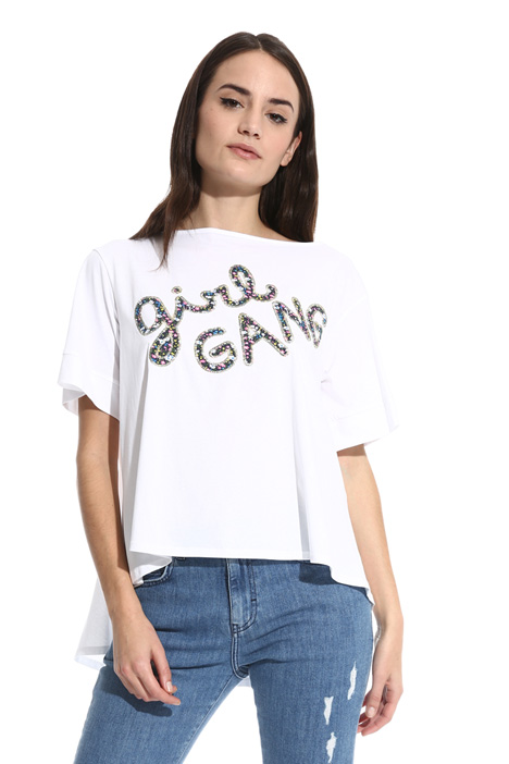 T-shirt svasata in jersey Fashion Market