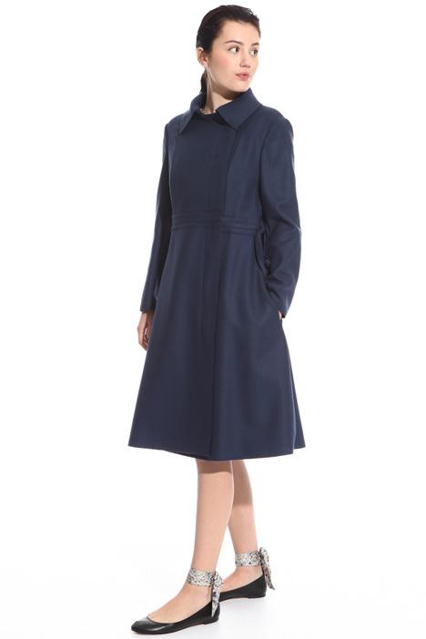Cappotto redingote in panno Fashion Market