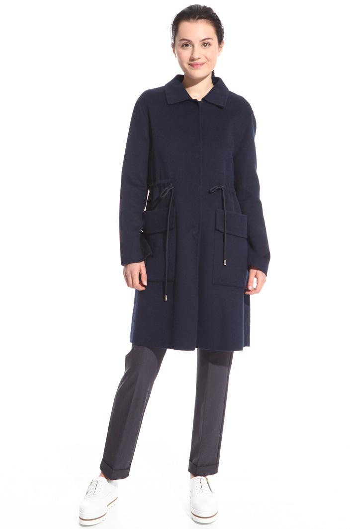 Cappotto con coulisse in vita Fashion Market