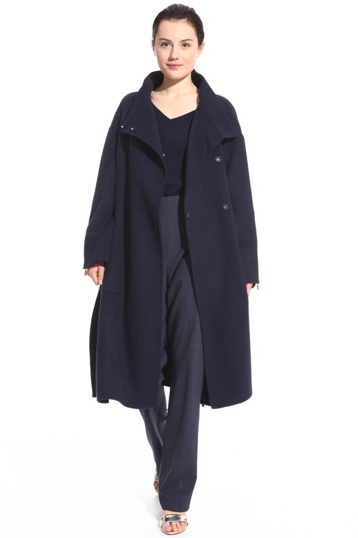 Cappotto in misto lana leggero Fashion Market