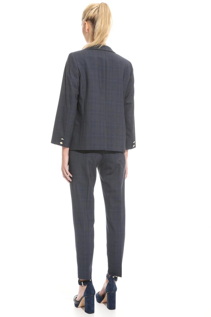 Doppiopetto in fresco di lana Fashion Market