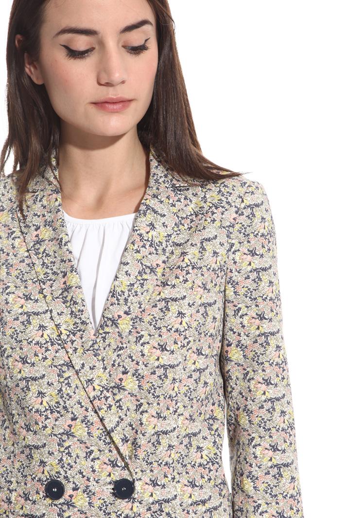 Giacca in cannetté di cotone Fashion Market