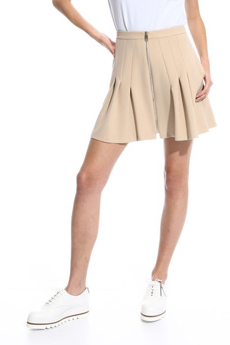 Minigonna con zip davanti Fashion Market