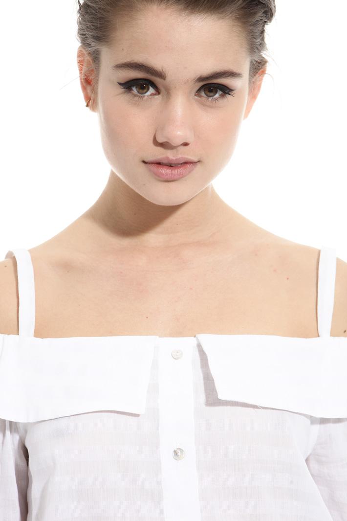 Camicia con spallini Fashion Market