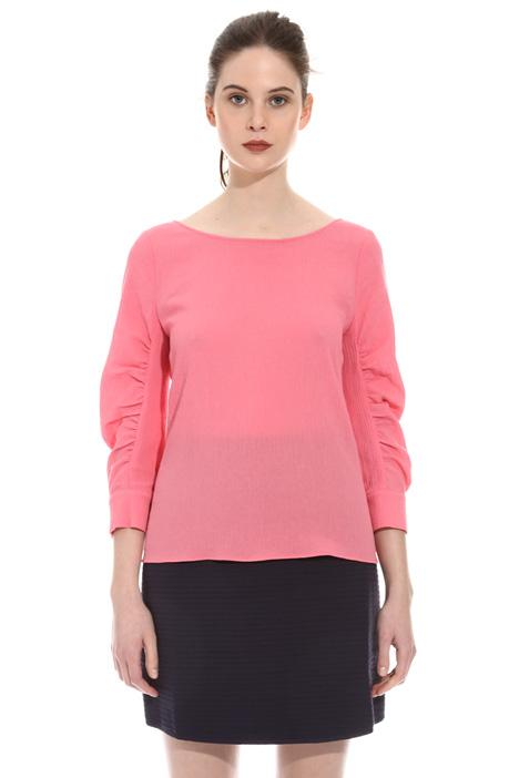Top in creponne di cotone Fashion Market