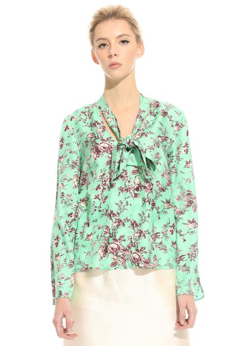 Blusa con collo a sciarpa Fashion Market