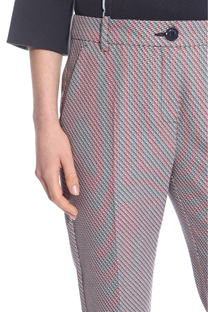 Pantalone con piega stirata Fashion Market
