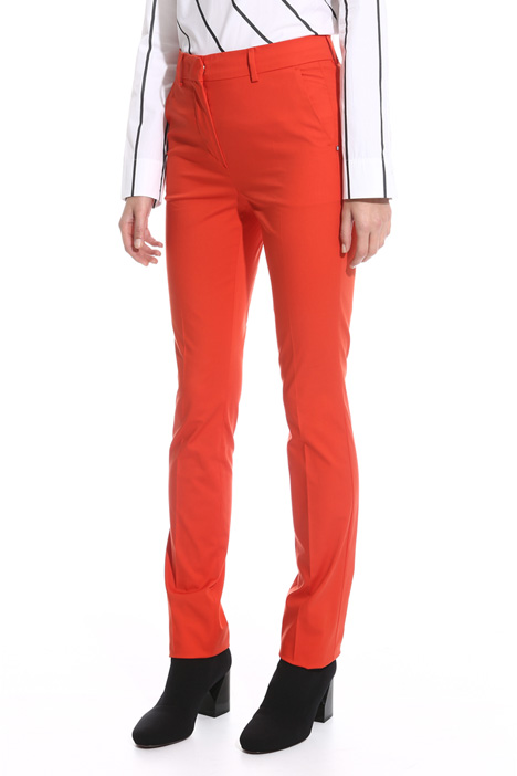 Pantalone sigaretta in cotone Fashion Market