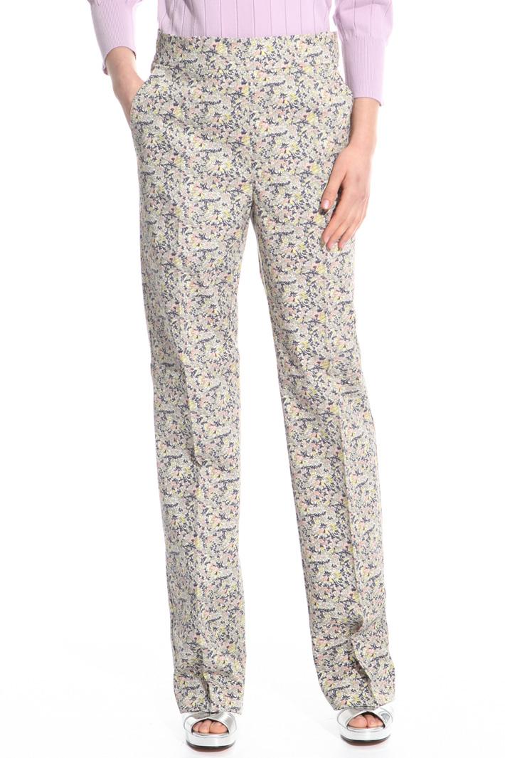 Pantalone in cotone stretch Fashion Market