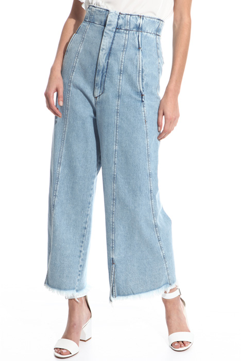 Jeans con wide leg Fashion Market