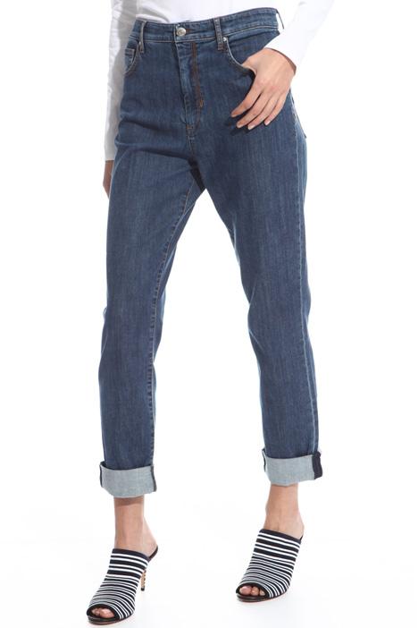 Jeans con risvolto Fashion Market