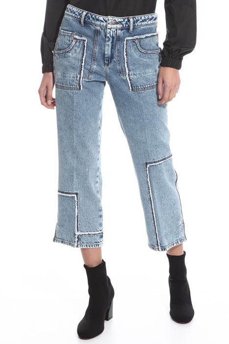 Jeans con tagli sfrangiati Fashion Market