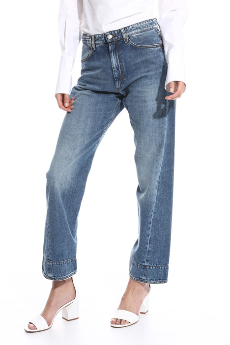 Mom jeans linea dritta Fashion Market