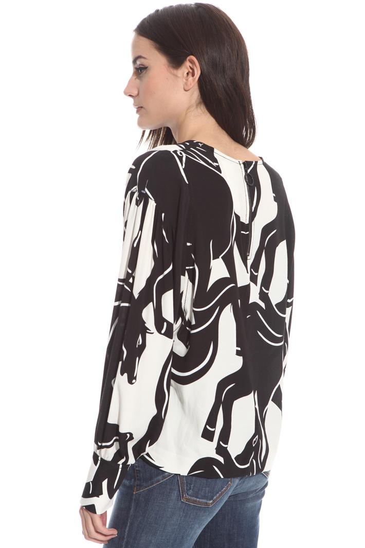 Blusa in viscosa marocaine Fashion Market