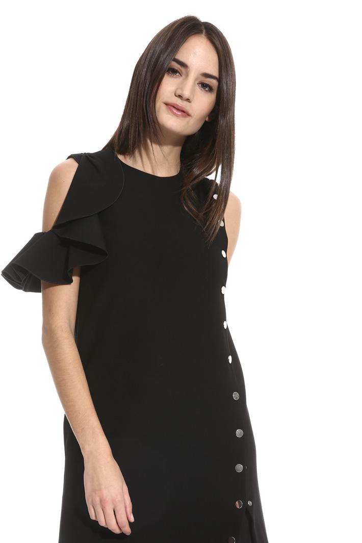 Mini abito con bottoni Fashion Market