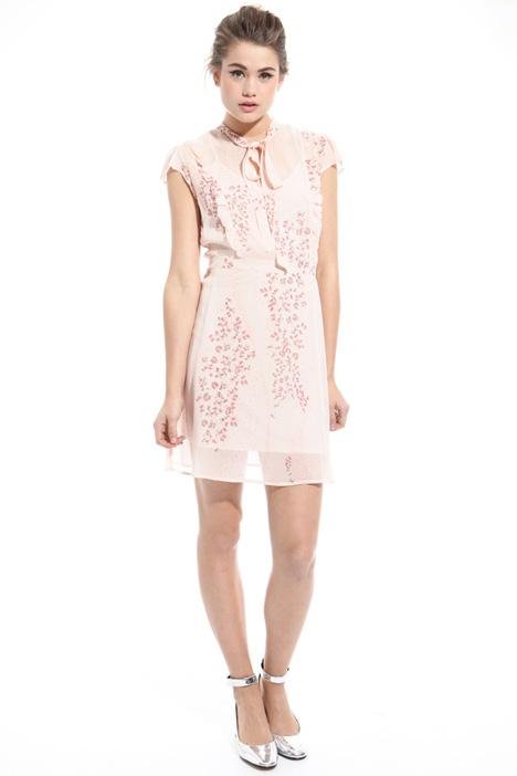 Mini abito in crepe stampata Fashion Market