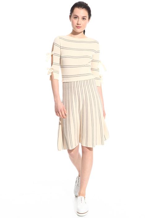 Abito in maglia a costine Fashion Market