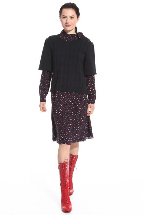 Abito con maglia sovrapposta Fashion Market
