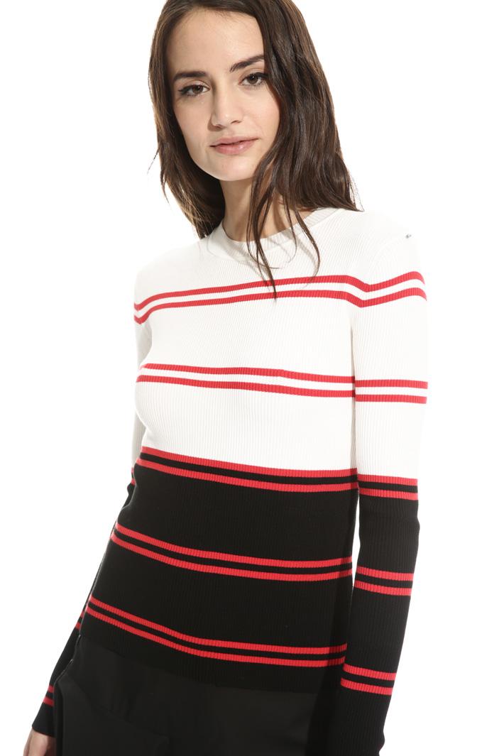 Maglia in viscosa a costine Fashion Market